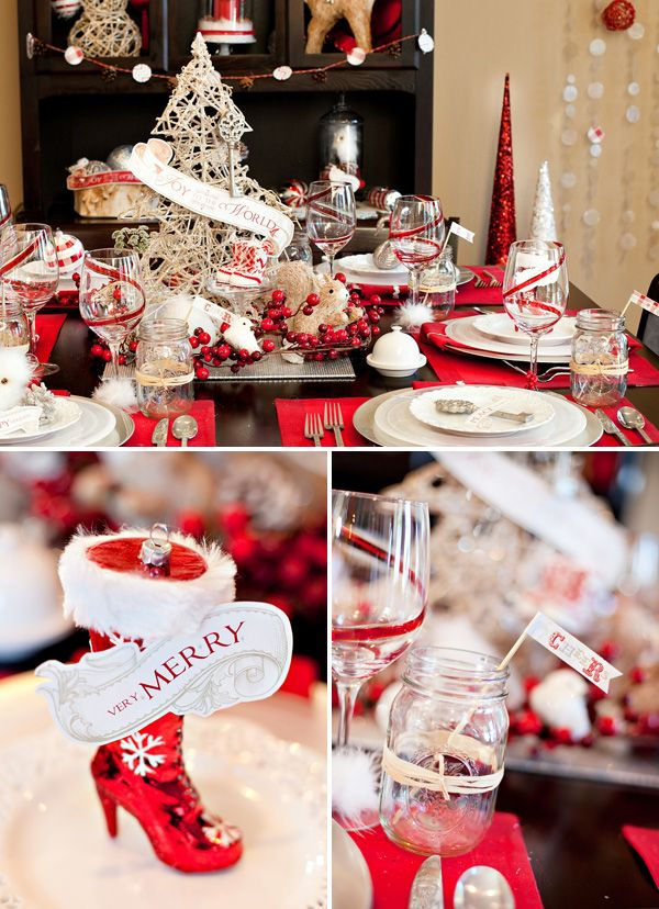 NEW Vintage Glam Holiday Theme {+ Free Party Printables Vintage
