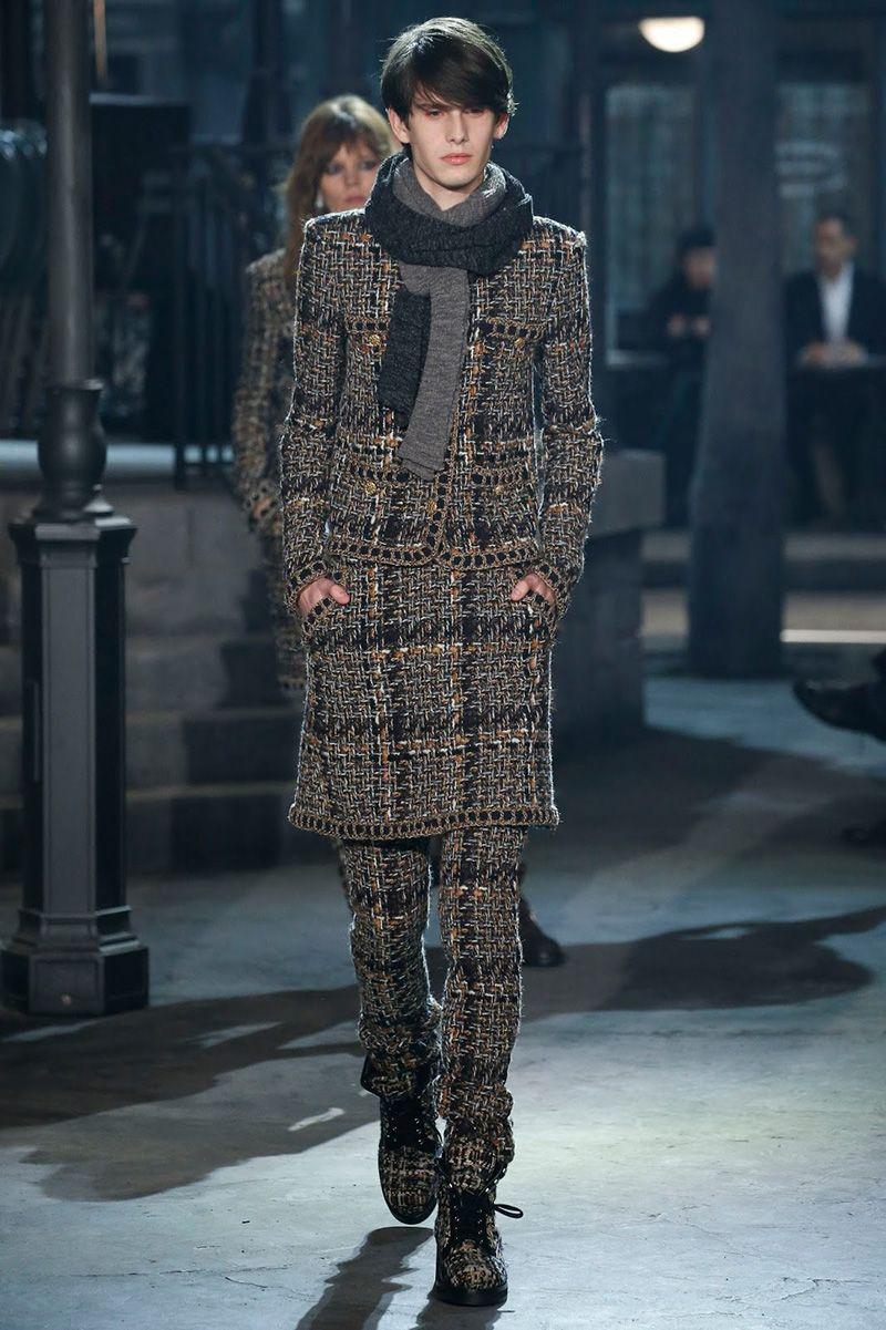 e5c3d09b83 Chanel Metiers dArt Pre Fall 2016  Menswear  Trends  Tendencias  Moda  Hombre F.Y!