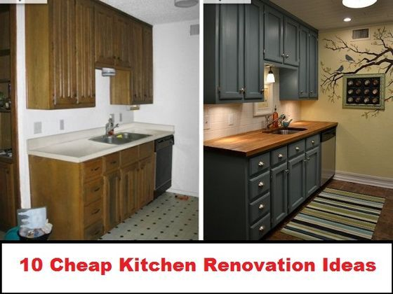10 Cheap Renovation Ideas For Your Kitchen Condo Kitchen Kitchen Remodel Small Kitchen Makeover