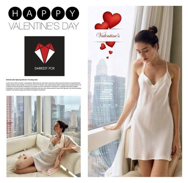 """Valentine's Day contest - Darkest Fox"" by vjeranneu ❤ liked on Polyvore"