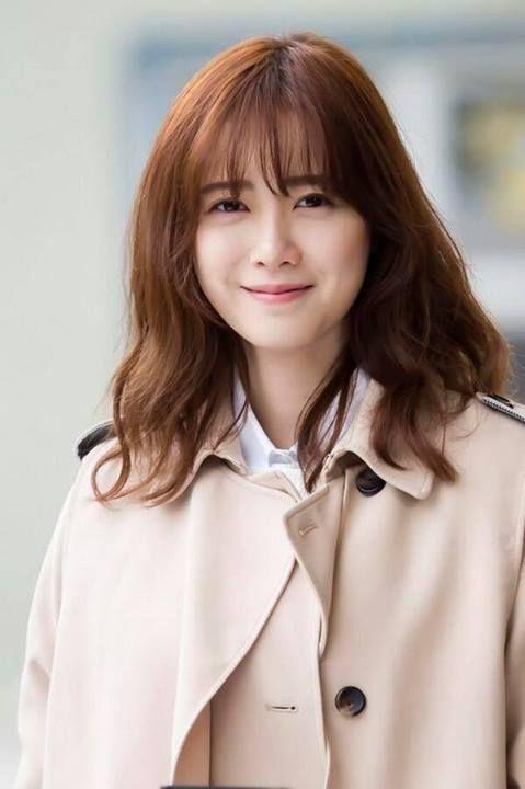 KOO HYE SUN   Pretty hairstyles, Medium hair styles, Beauty