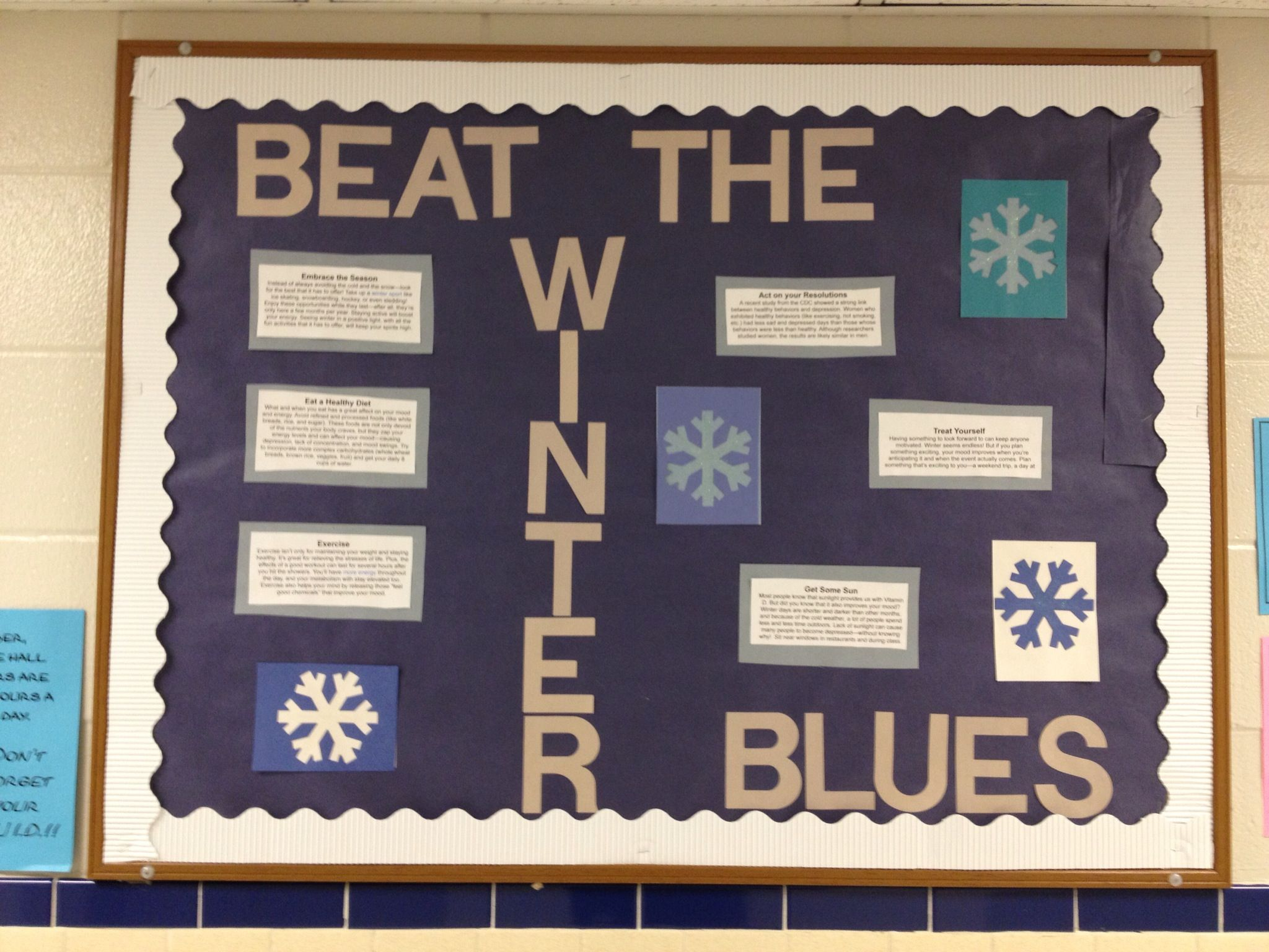 Winter bulletin boards ideas pinterest - January Bulletin Board
