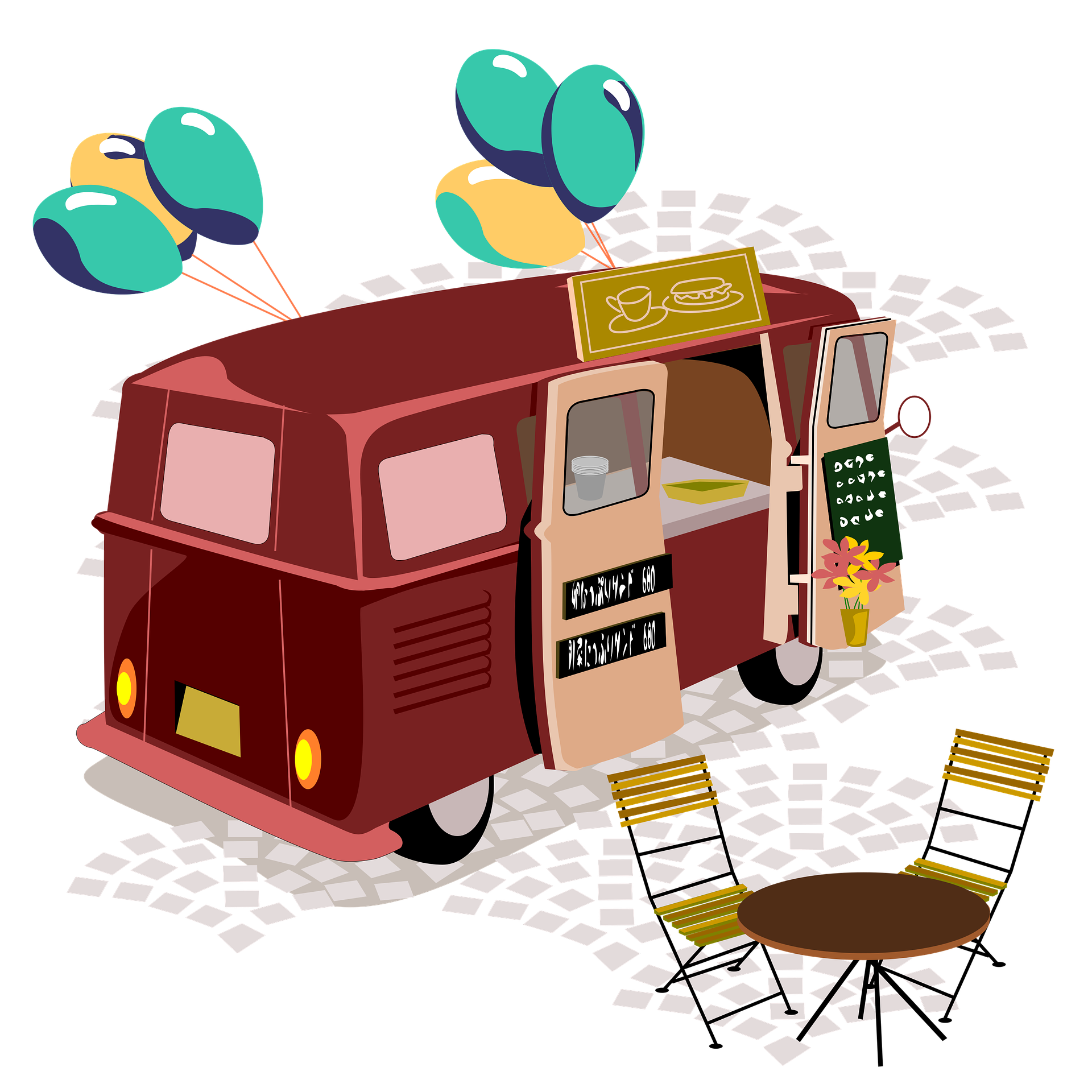 How To Make Profit From A Food Truck Business In 2020 Food Truck Business Plan Food Truck Business Food Business Ideas