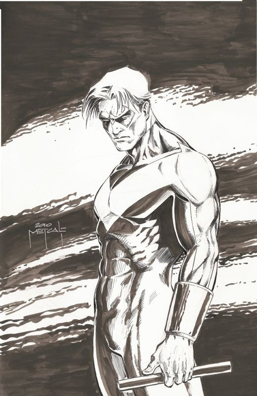Nightwing by Jason Metcalf   DC-Comics   Pinterest   Cómics y Dibujos