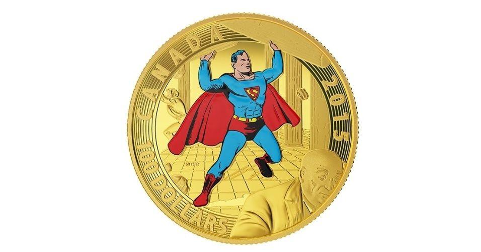 Canadá tem moedas colecionáveis do Super-Homem e outros personagens - Fotos - UOL Economia