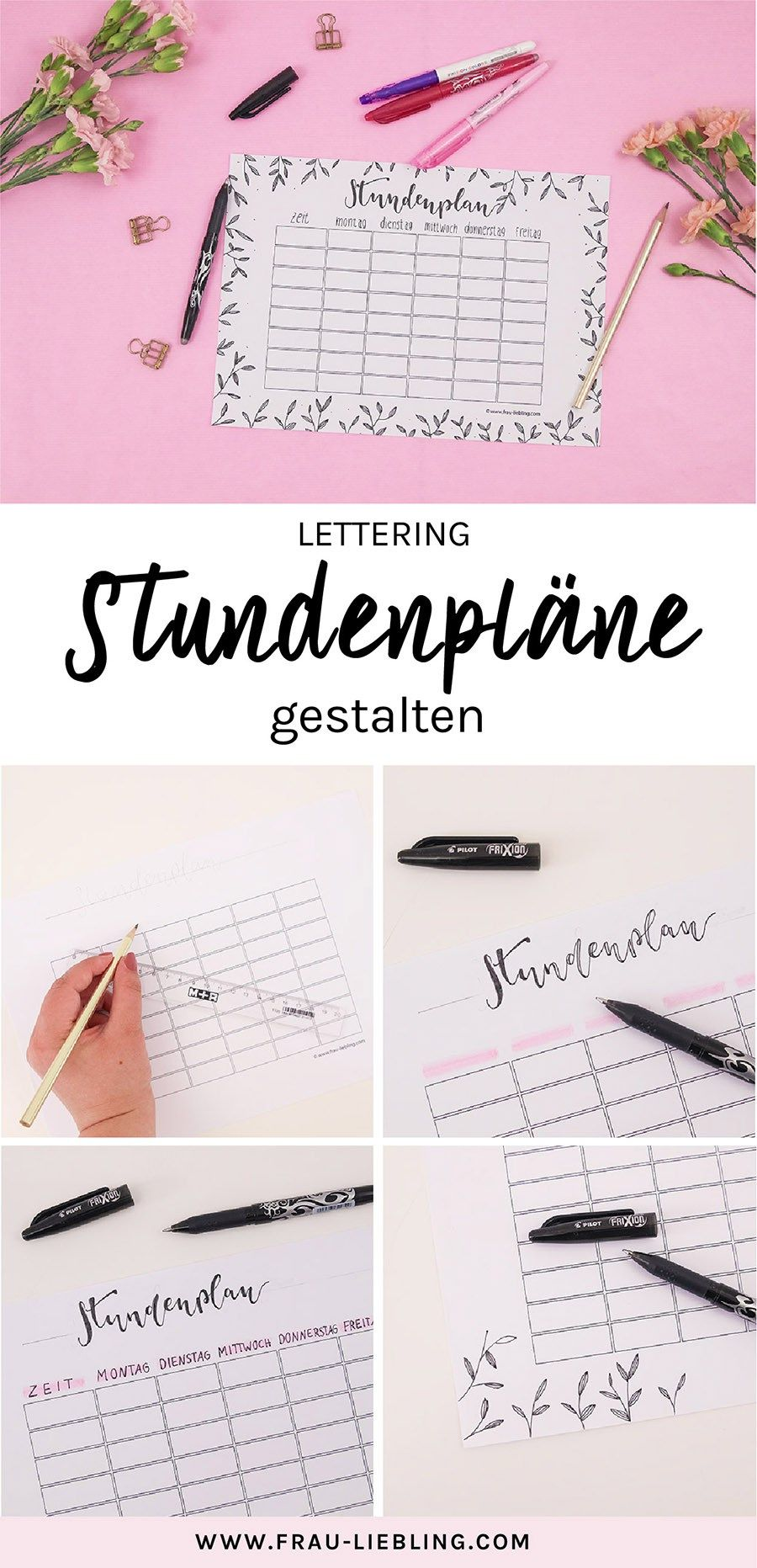 Photo of Back to school with pilot: create DIY lettering timetables