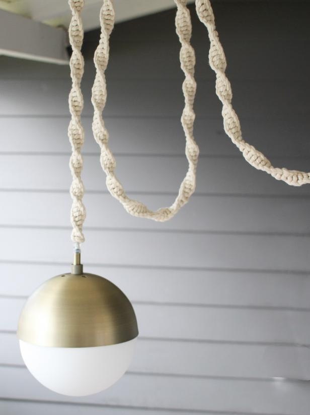 How To Make A Macrame Light Cord Cover Light Cord Cover Wrapped Light Cord Pendant Light Cord