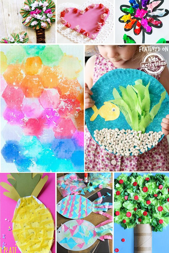 11++ Tissue paper crafts for 2 year olds ideas in 2021