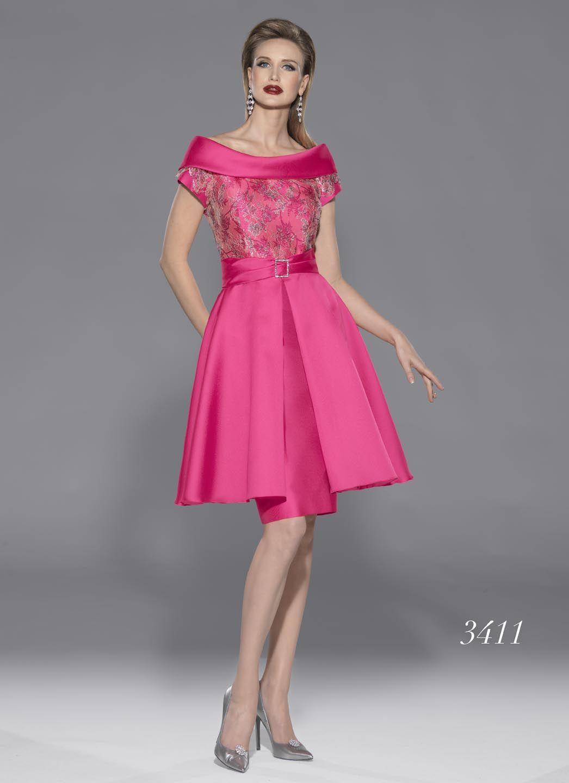 Modelo 3411 de Teresa Ripoll | vestido para fiesta o madrina en rosa ...