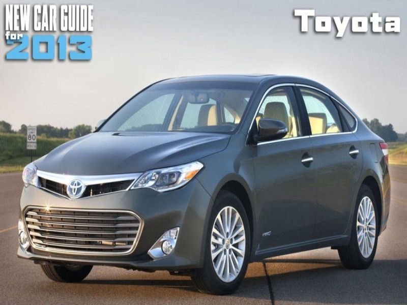 new car release dates 2013Toyota New Car Model Toyota Cars 2013  New Toyota Models 2013