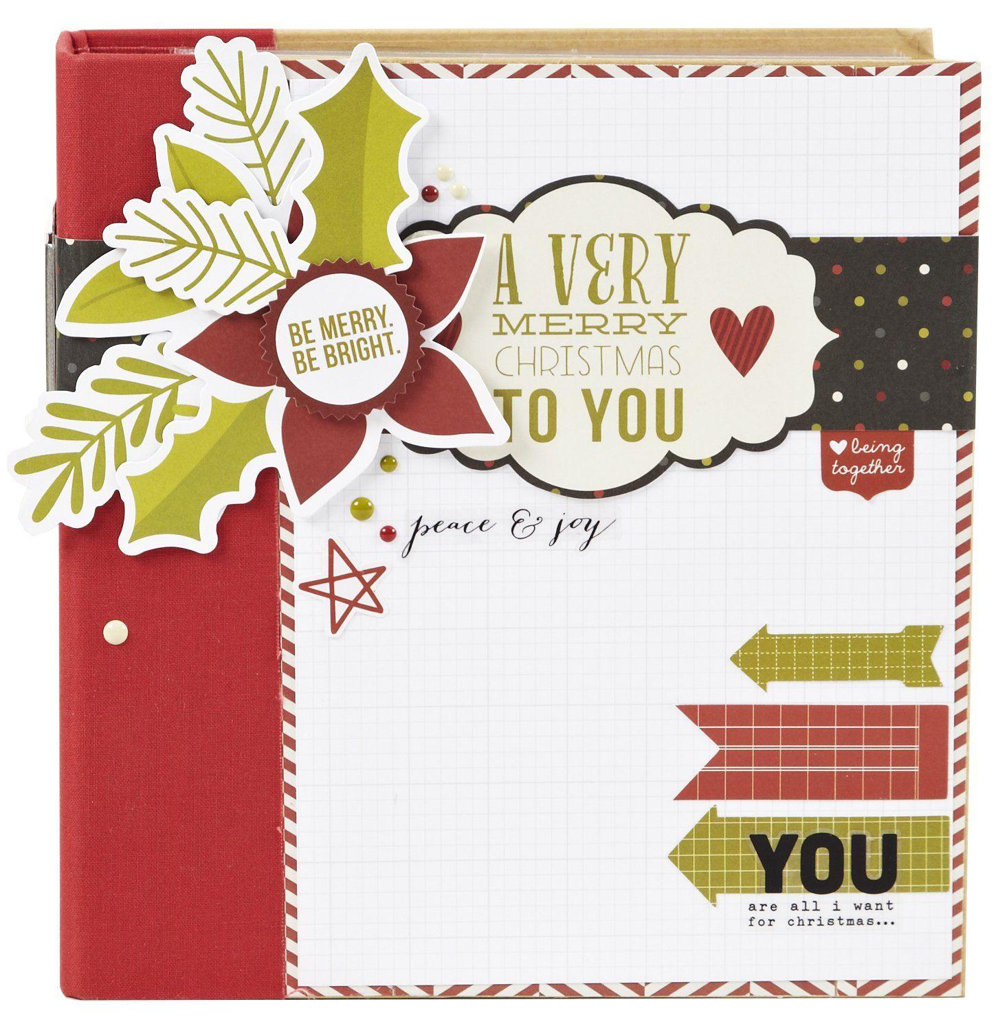 Christmas SN@P! Binder - Scrapbook.com