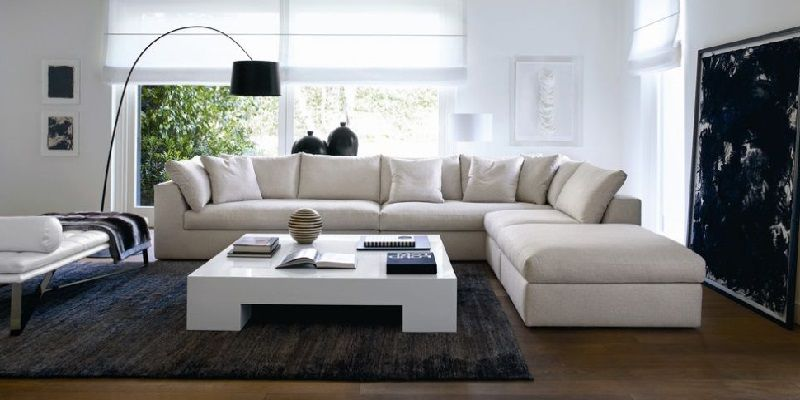 7 Seater Sectional Sofa With L Shaped