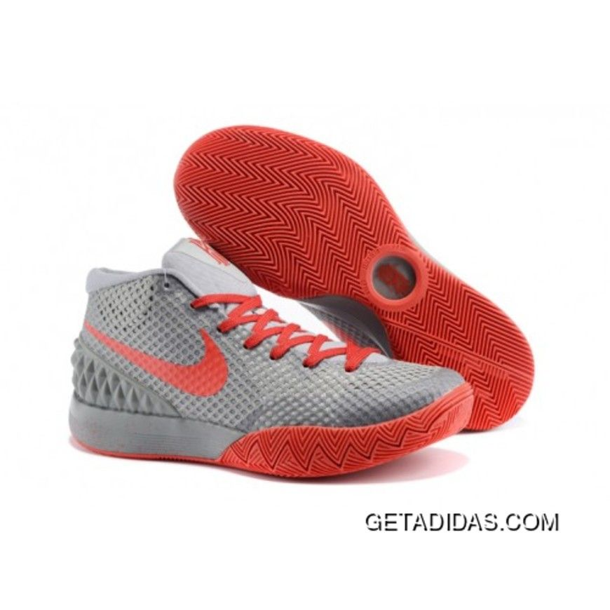 Nike Kyrie 1 women shoes Grey Red