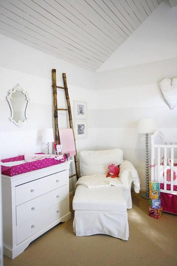 7 habitaciones infantiles en blanco habitacion para - Habitacion infantil rosa ...