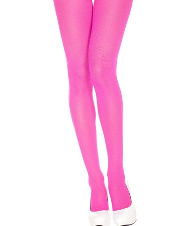 Another great find on #zulily! Pink Opaque Tights #zulilyfinds