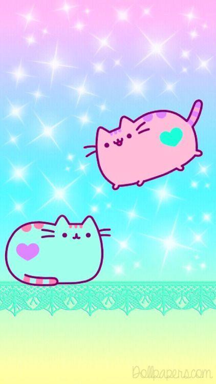 Pusheen Cute Cat Wallpaper Nyan Cat