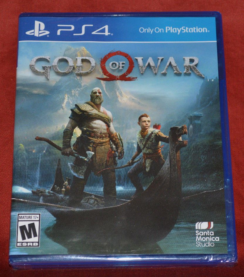 Brand New God Of War Sony Playstation 4 2018 Factory Sealed