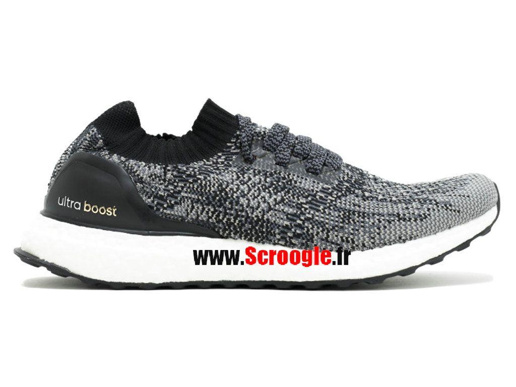 Chaussures de Running Pas Cher Pour Homme Femme Adidas Ultra Boost Uncaged  M Noyau Noir Or BB3900 baaa696d111a