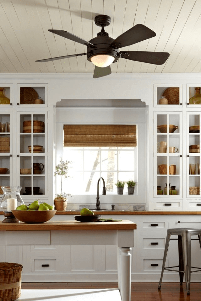 Small Kitchen Lighting Ideas That You Can Adopt Small Kitchen Guides Ceiling Fan In Kitchen Kitchen Fan Kitchen Ceiling