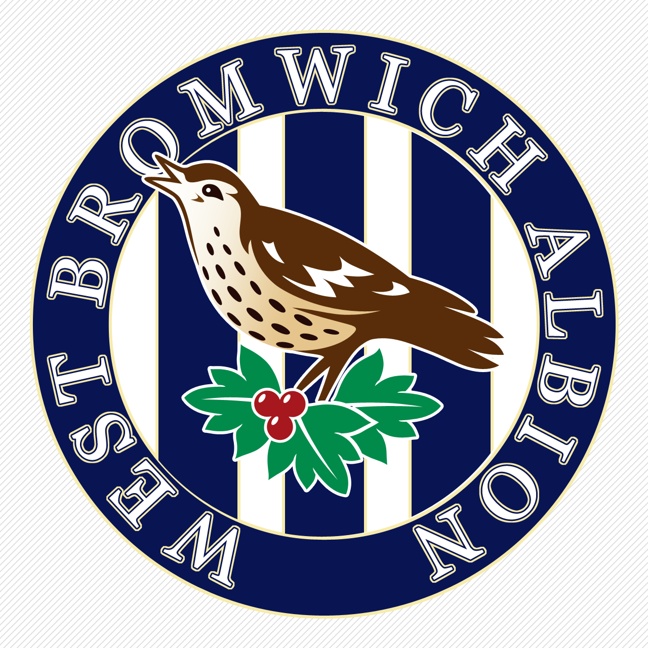 West Bromwich Albion (old logo) Football team logos