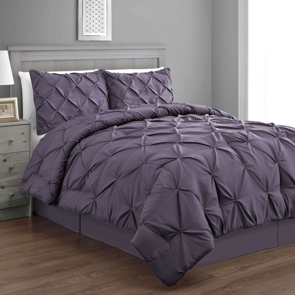 pinch ramesses pin comforter piece pinched by set charcoal pleat