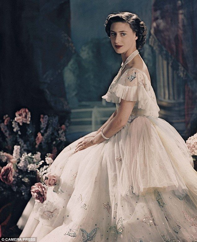 Princess: The young Margaret in a photograph taken on her 19th birthday by Cecil Beaton