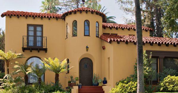 Image Result For Spanish Style House Exterior Paint Colors