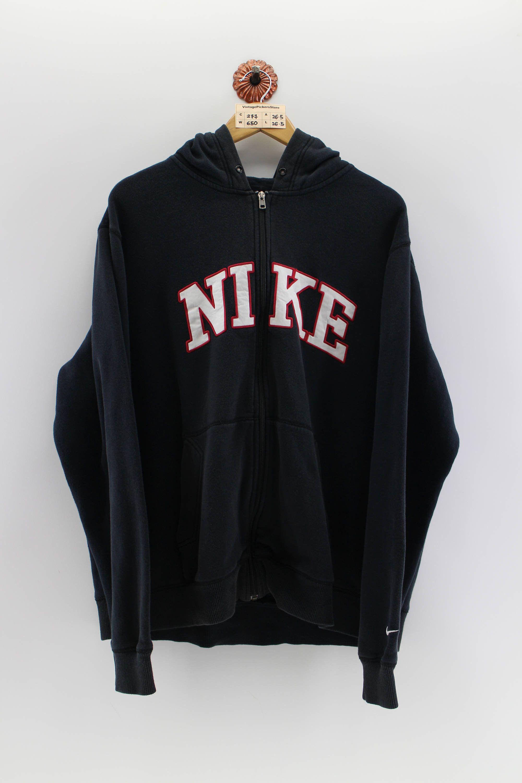 Vintage Nike Spellout Pullover Hoodie Unisex Xlarge 90s Nike Etsy Vintage Nike Pullover Hoodie Hoodies