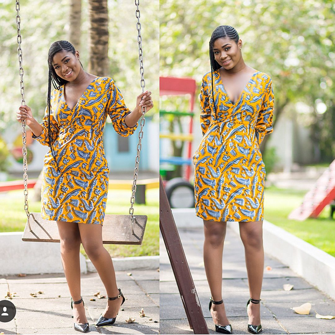 40+ Latest New Ankara Short Gown Styles 2018 for Bright ...