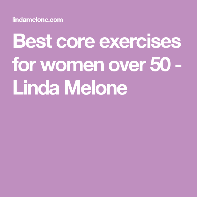 best core exercises for women over 50