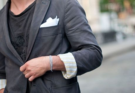 Men's Style - Pocket Square - pinterest.com/pinsbychris