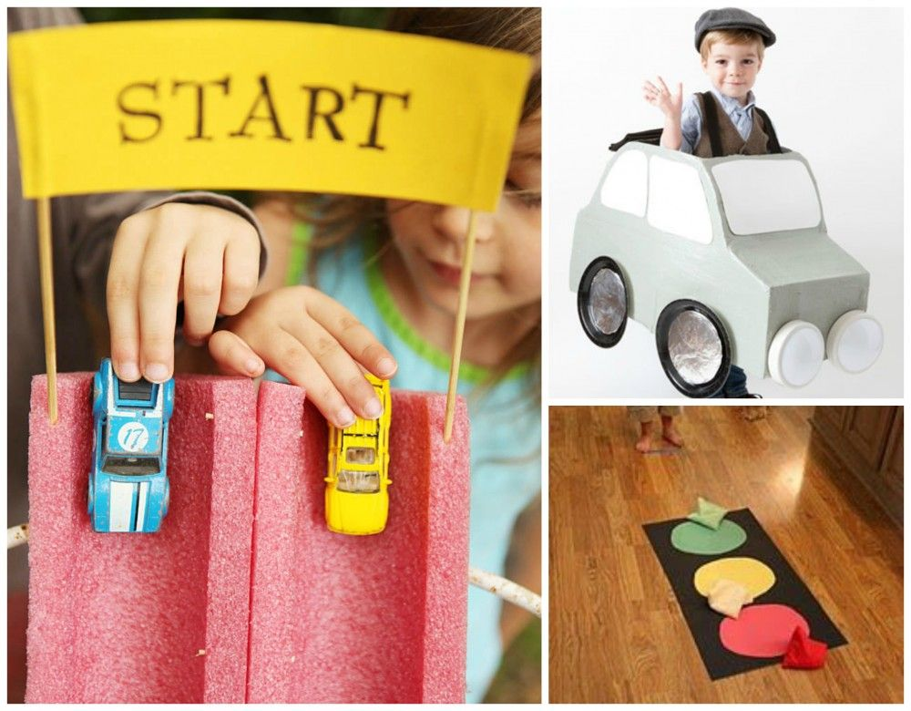 Tipps und Ideen für einen Kindergeburtstag mit vielen PS - babybirds