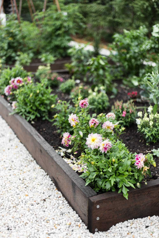 Our Kitchen Garden Wallpaper Landscape Scenery Garden