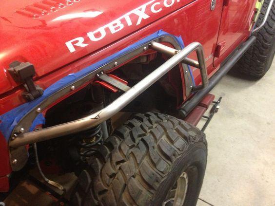 Diy Tube Fenders Jeep Bumpers Diy Jeep Jeep Fenders