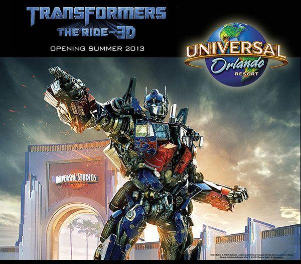 3D, Summer 2013. Universal Orlando