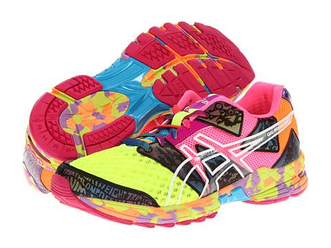 asics gel noosa tri 8 flash yellow flash pink