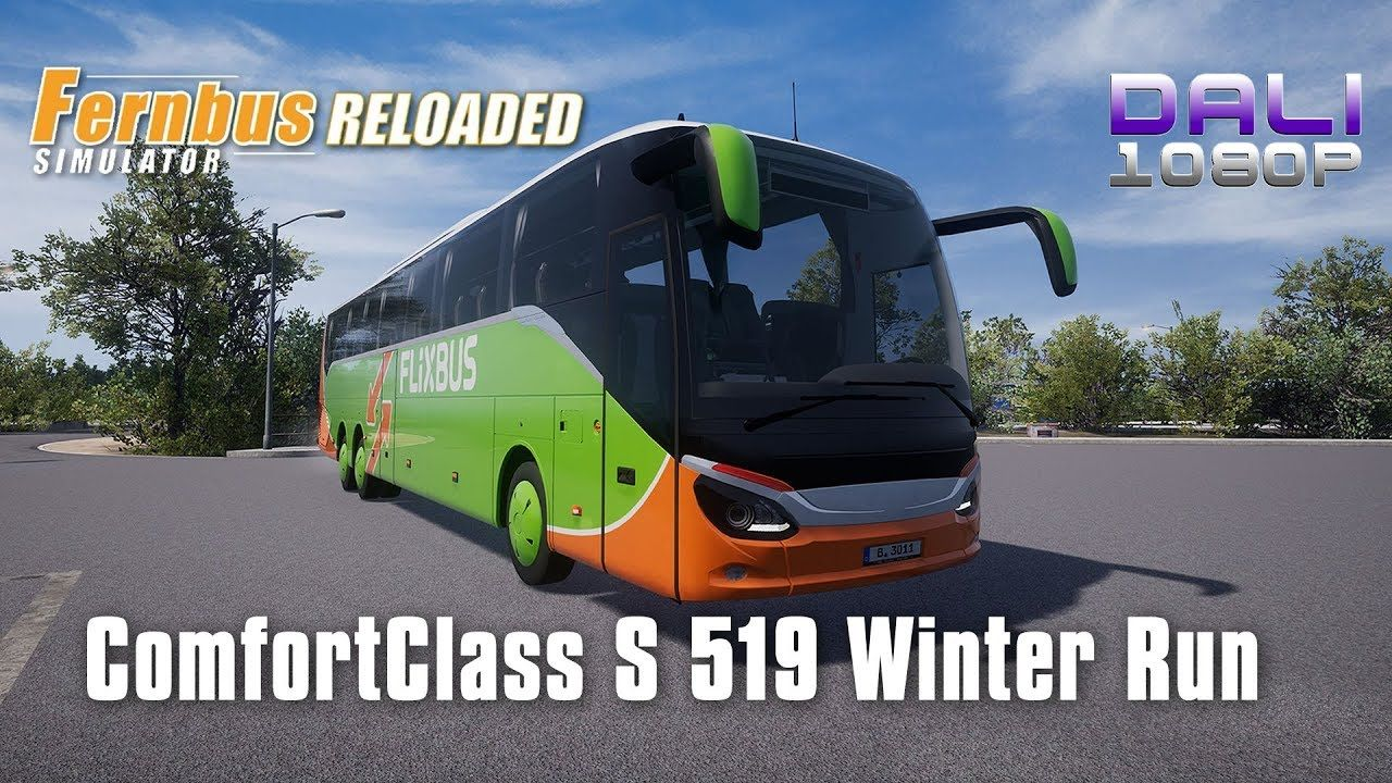 Fernbus Simulator ComfortClass HD DLC | S 519 Winter Run In