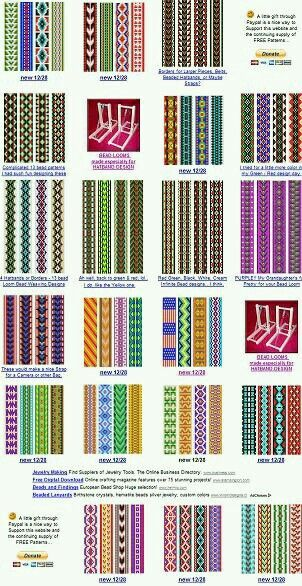 Free Bead Patterns For The Loom