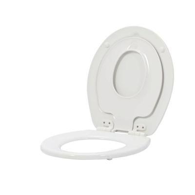 Bemis Nextstep Children S Round Closed Front Toilet Seat In White