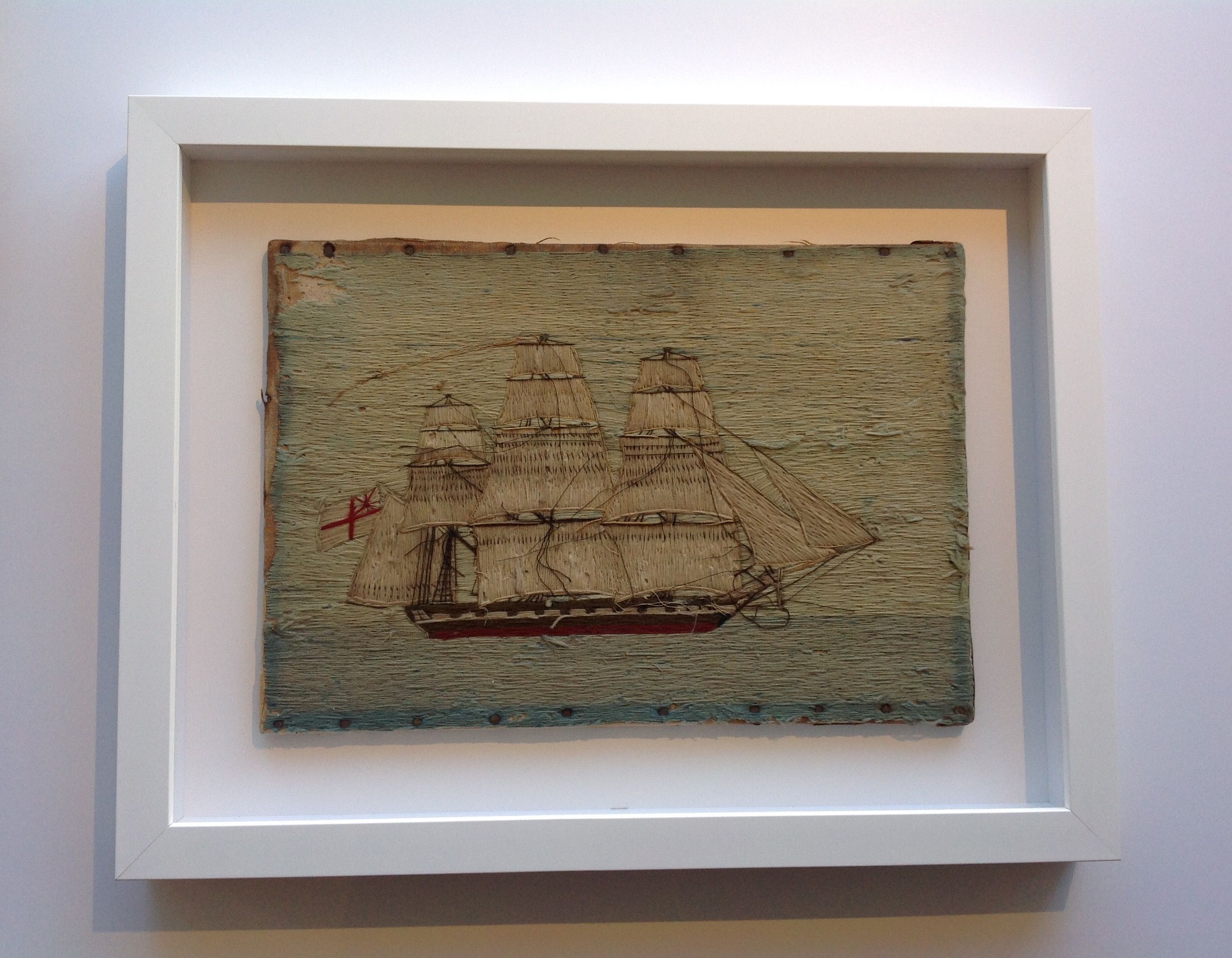 Antique ship tapestry for a modern setting latest trends