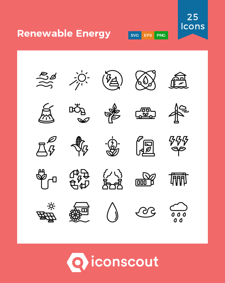 Download Renewable Energy Icon Pack Available In Svg Png Eps Ai Icon Fonts Renewable Energy Icon Energy
