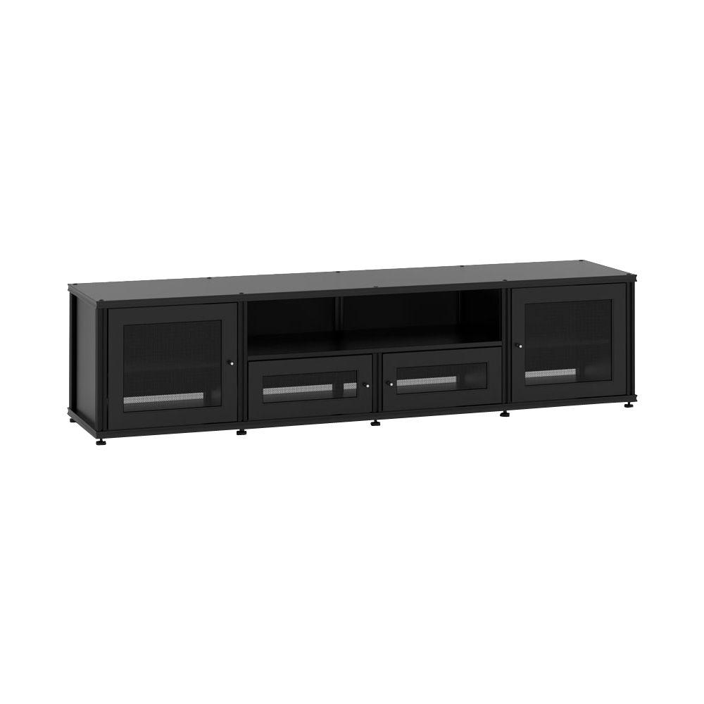 salamander designs - synergy system quad cabinet for most tvs up