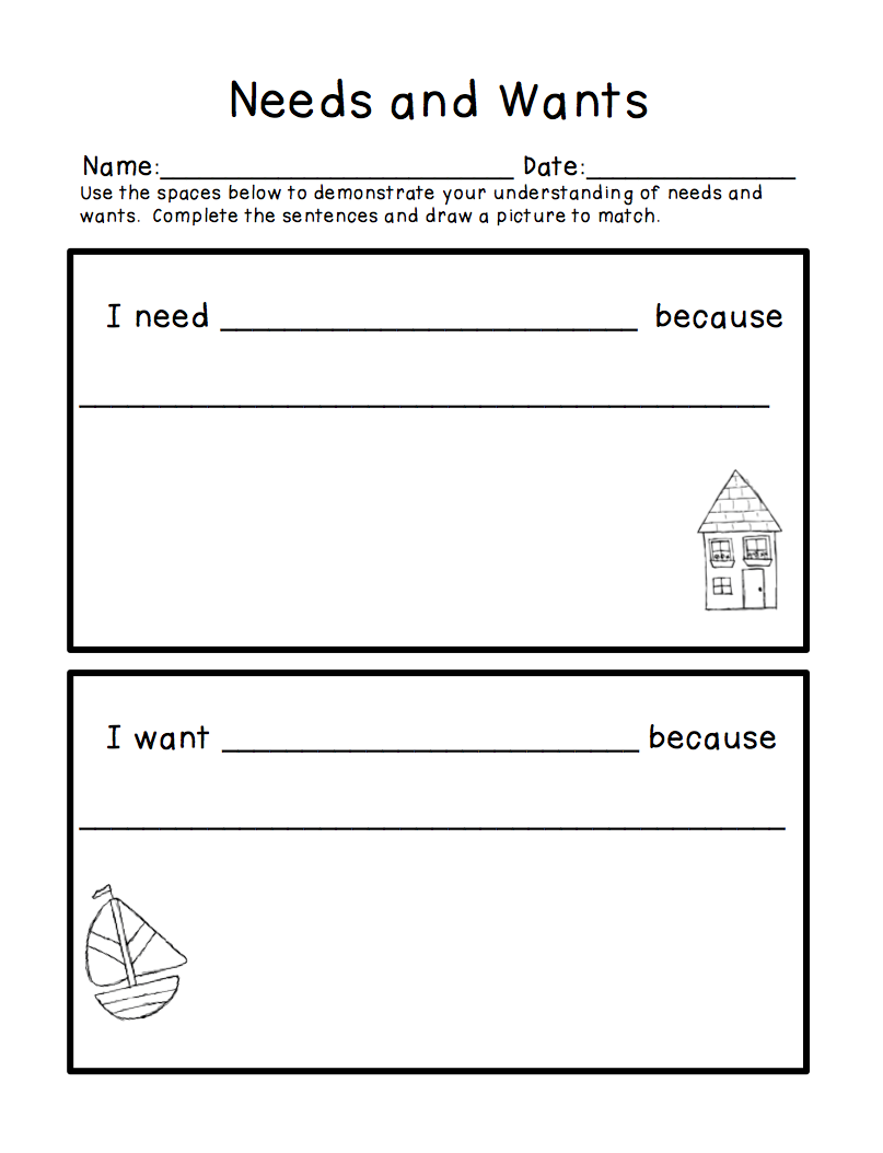 28 Goods And Services Worksheet Community Service