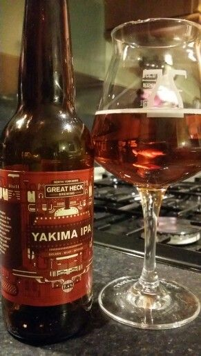 Great Heck Brewing Company Yakima IPA. Watch the video Beer review here…