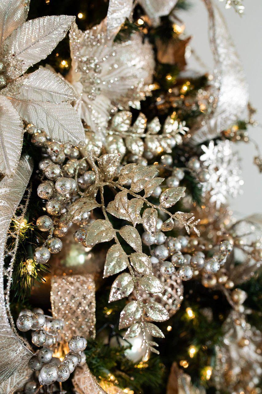 Tree Bundles Platinum Glam Christmas Tree Theme Decorator S Warehouse In 2020 Glam Christmas Tree Christmas Tree Themes Glam Christmas