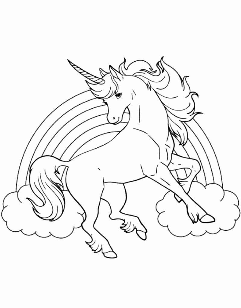 Unicorn Horn Coloring Page Awesome Best Printable Coloring Sheet