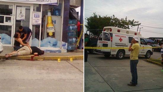 Tras persecución acribillan a varón, en fraccionamiento Kawatzin de Coatzintla - http://www.esnoticiaveracruz.com/tras-persecucion-acribillan-a-varon-en-fraccionamiento-kawatzin-de-coatzintla/