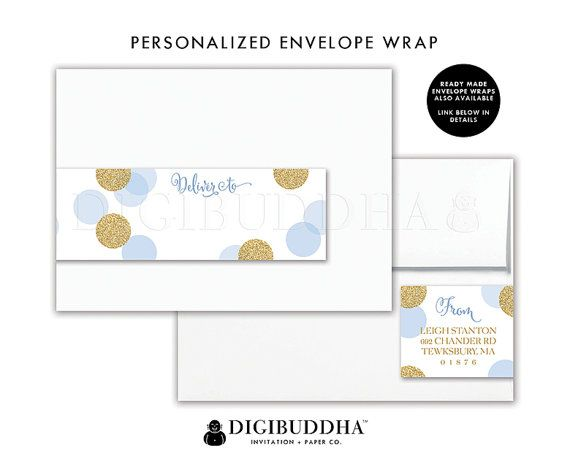 SOBRES envoltura etiquetas sobres abrigo dirección etiqueta etiqueta envolver envoltura etiqueta remite etiquetas DiY envoltorio para imprimir etiquetas - Leigh