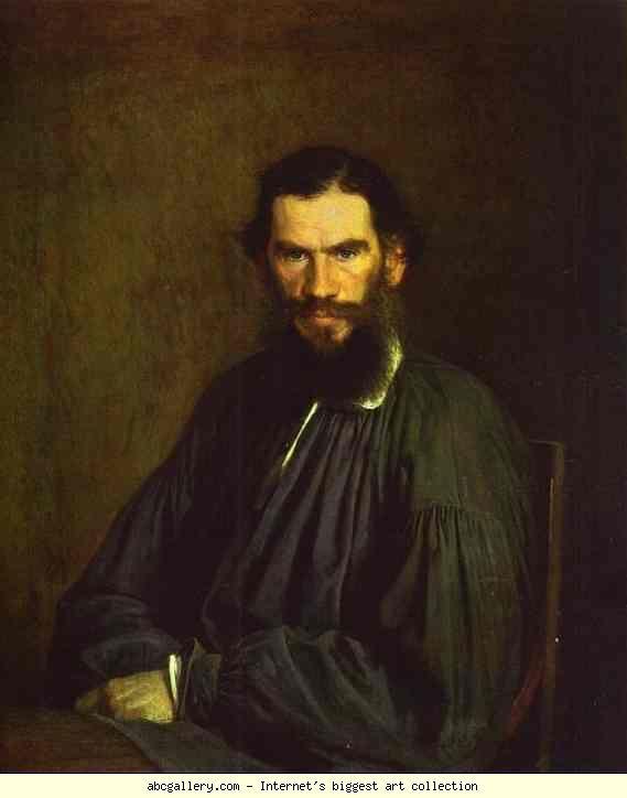 Ivan Kramskoy Portrait Of Leo Tolstoy Olga S Gallery Leo Tolstoy Portrait Leo