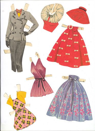 Fashions for the Modern Miss 1957 Saalfield 03